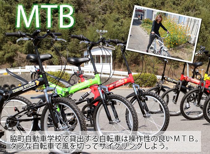 貸し自転車のビーチクルーザー