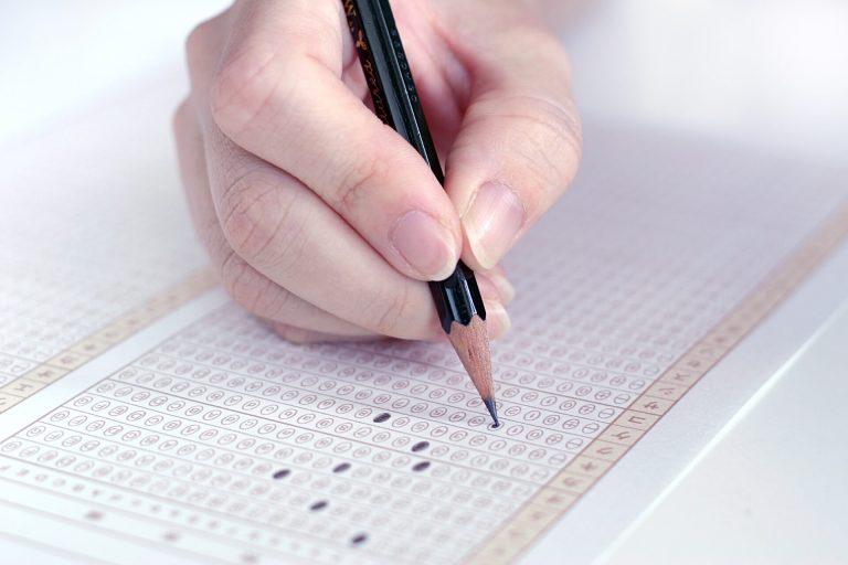 中国語による学科試験